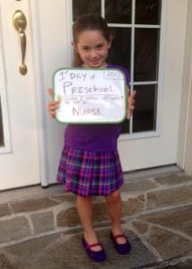 First Day of VPK.
