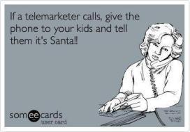 Telemarketer & Kids